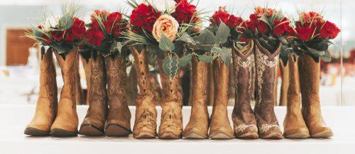 cowgirl boots wedding ideas featured savanna kathleen
