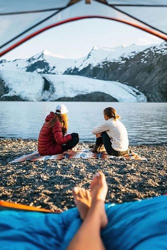 engagement party ideas nature camping