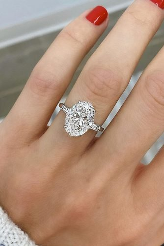 engagement ring inspiration solitaire oval cut diamond