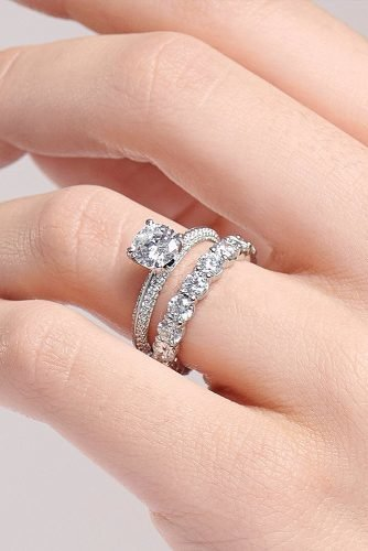 engagement ring inspiration solitaire white gold diamond