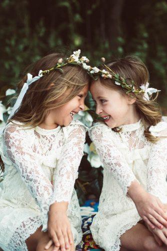flower girl dresses with long sleeves full lace angelina norris