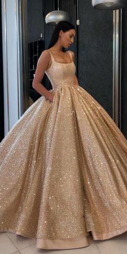 15 Gold Wedding Gowns For Bride Who Wants To Shine Wedding Forward