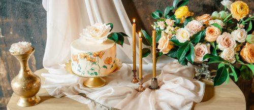 handpainted wedding cakes featured image