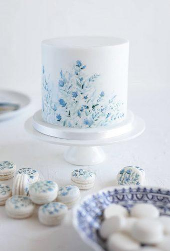 handpainted wedding cakes tender small cake cupcakesandcounting