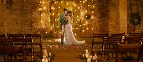 industrial wedding decor featured image