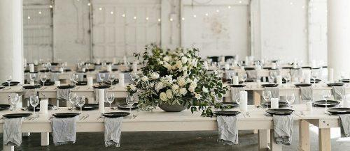 minimalist wedding decor featured1