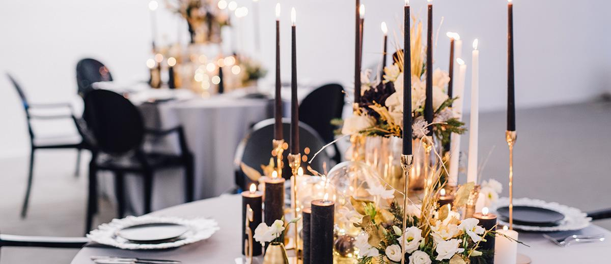 modern-wedding decor ideas featured