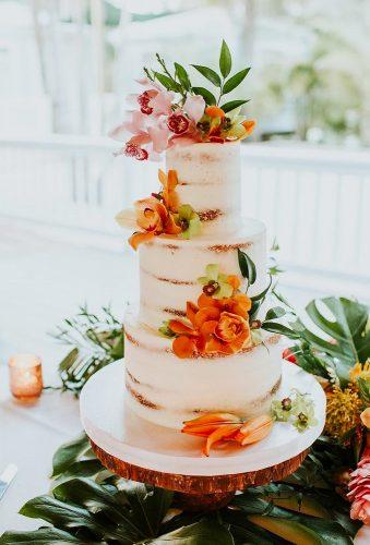 tropical wedding cake trends floral tropical cake everythingcakeorlando