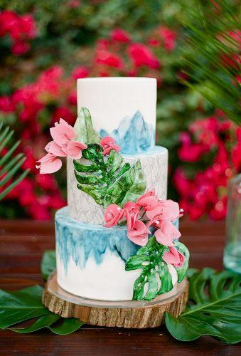 tropical wedding cake trends tropical elegant cake heytherecupcake