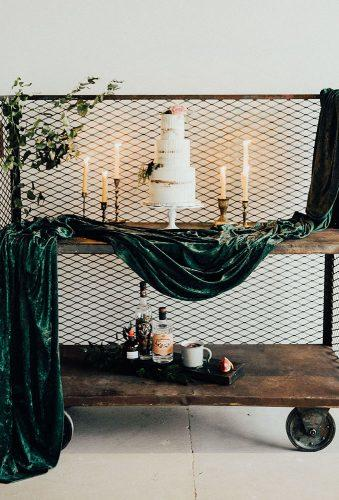 velvet wedding decor velvet cake decor The Rowlands