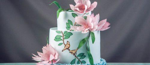 watercolor wedding cakes featured image