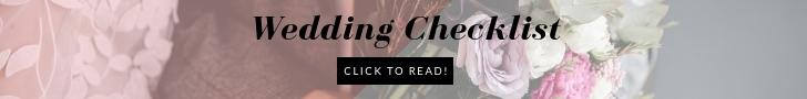 wedding checklist banner