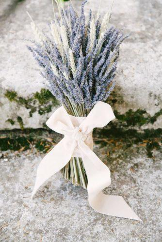 wedding dried flowers bouquets lavender bouquet Izzie Rae Photography