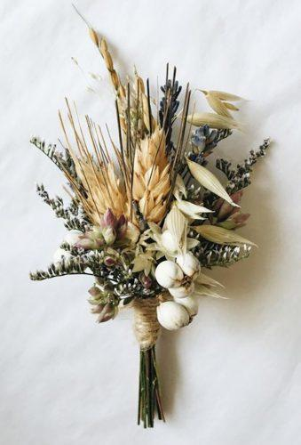 wedding dried flowers bouquets small bouquet Eucca