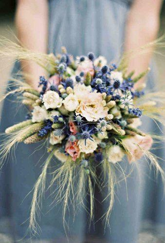 wedding dried flowers bouquets small wedding bouquet caroline tran