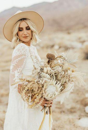 wedding dried flowers bouquets tender boho bouquet Kaylee Chelsea Photography