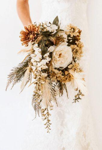 wedding dried flowers bouquets tender bouquet Emily Rose Flower Crowns