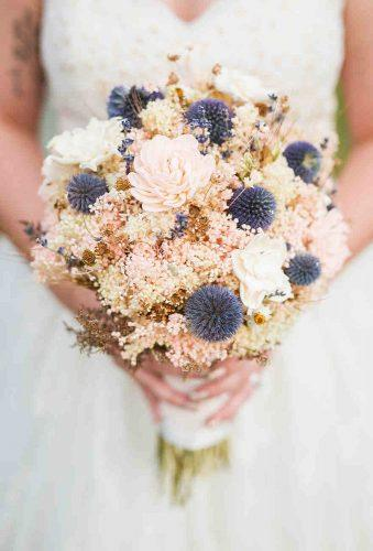 wedding dried flowers bouquets tender bouquet aprilbphotography