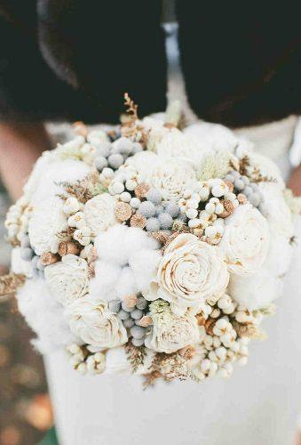 wedding dried flowers bouquets white tender bouquet onelove photo