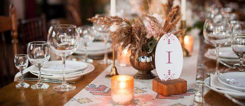 wedding dried flowers decor featured image