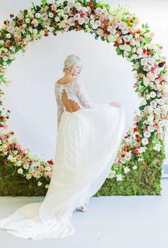 wedding floral moon gates chic gates amanda karen photo