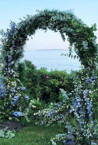 wedding floral moon gates greenery wedding arch lilacandlily