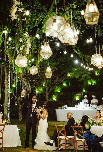 wedding hanging installations chic lanterns Samm Blake
