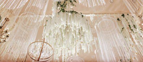 18 Ideas Wedding Hanging Installations