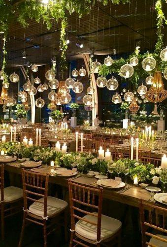 wedding hanging installations lighting wedding decor ClassyGiftsAndGlass