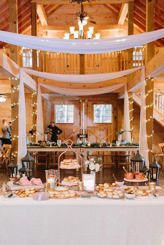 wedding menu ideas bisquits bar decor wedding