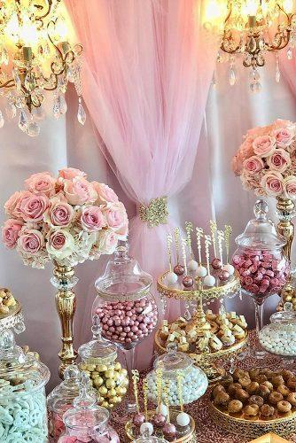 wedding menu ideas candy buffet