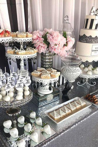 wedding menu ideas dessert bar sweets cakes