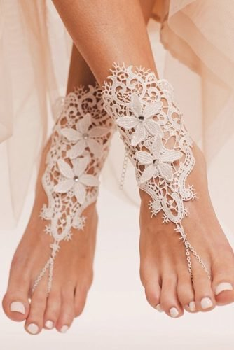beach wedding shoes lace for summer white baresandalsllc