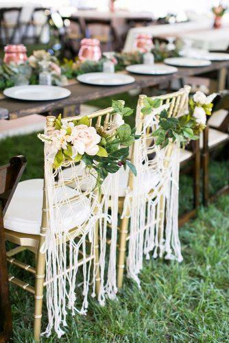 boho wedding trends macrame chair decor Jessica Ryan Photography