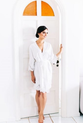 bridal robes perfect white robe lerose_online