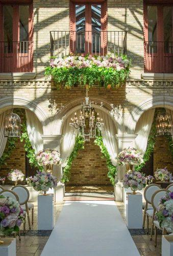 castle wedding ceremony outdoor decor agistudio