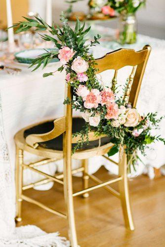 castle wedding gold chair decor christina bernales