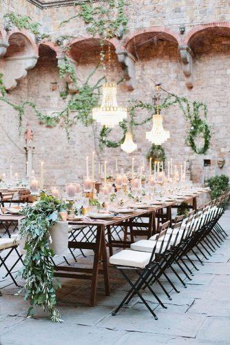 castle wedding outdoor reception Chiara Sernesi