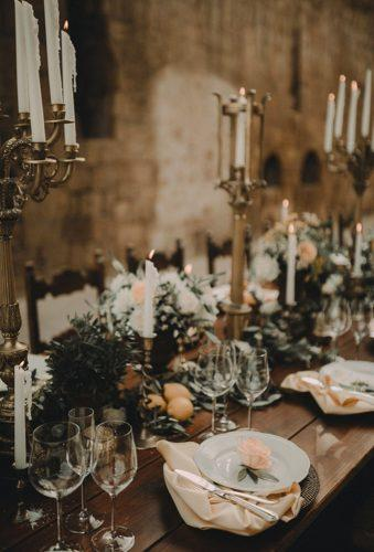 castle wedding table decor andreatappo