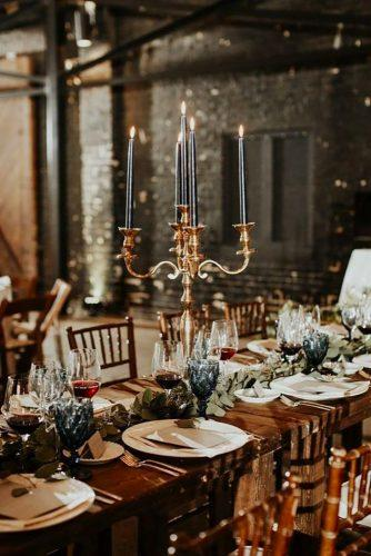castlen wedding table decor for castle wedding Texture Photo