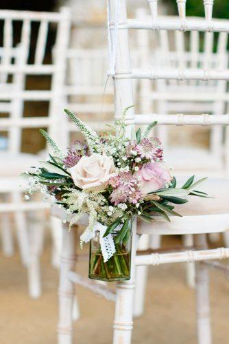 castle wedding white chair tender flower Nicola Milns Photography