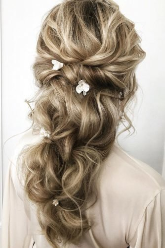 classic wedding hairstyles elegant hair down juliafratichelli.bridalstylist