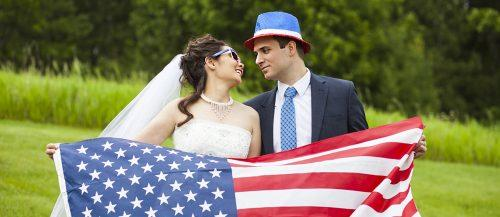 independence day wedding featured