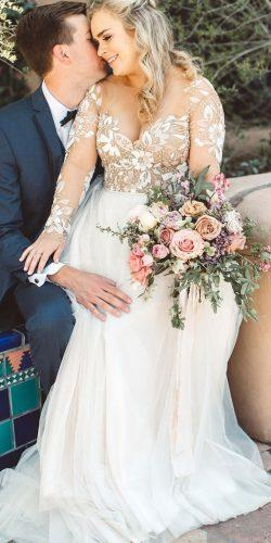 Dreamy Plus Size Wedding Dresses With Sleeves Wedding Forward