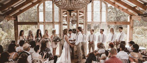 real wedding the woods of jervis bay featured image