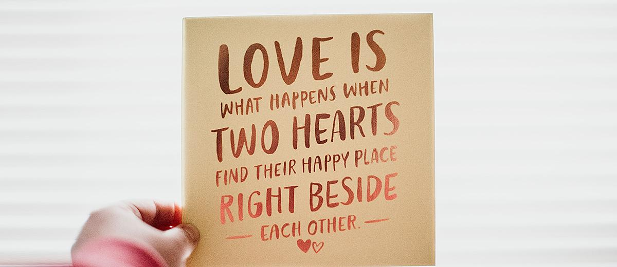 romantic quotes marriage quote wish card