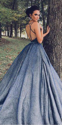 second wedding dress ball gown backless sherrihill