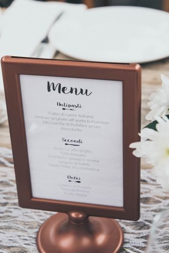 wedding on a budget wedding reception wedding menu