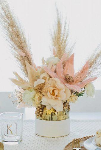 bohemian wedding ideas boho centerpiece afloral