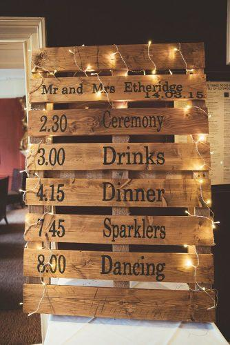 cheap wedding decorations palette sign Philippa James